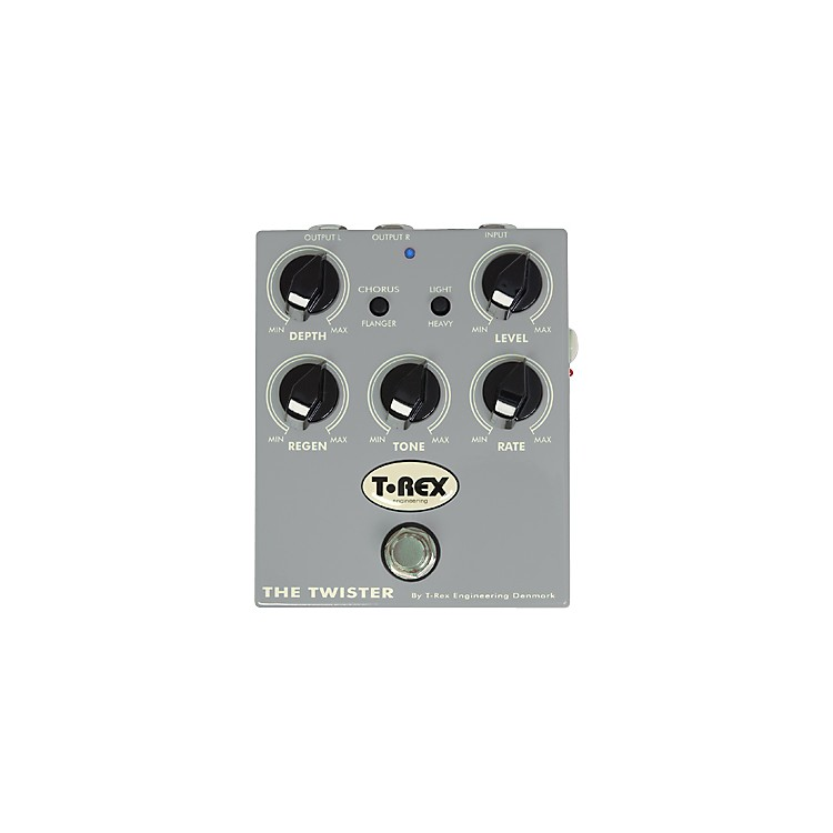 T-Rex Engineering The Twister Chorus/Flanger Guitar Effects Pedal