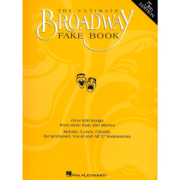 Hal LeonardThe Ultimate Broadway Fake Book
