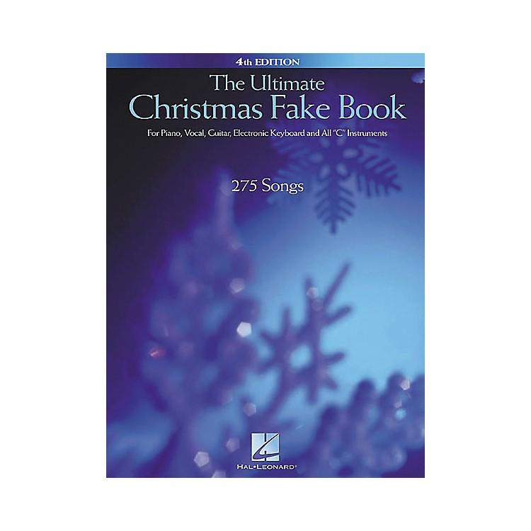 Hal LeonardThe Ultimate Christmas Fake Book 4th Edition