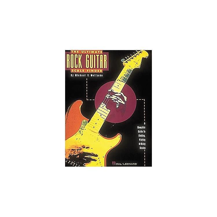 Hal LeonardThe Ultimate Rock Guitar Scale Finder Book