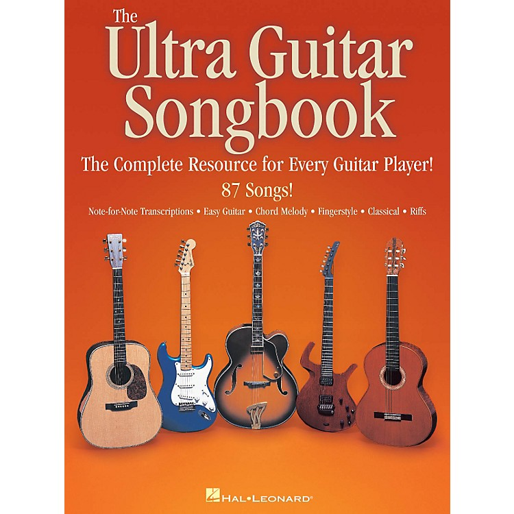 Hal LeonardThe Ultra Guitar Songbook - The Complete Resource for Every Guitar Player!