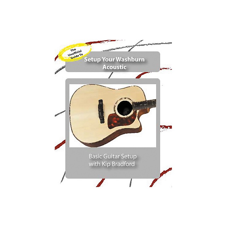 Great Nutshell ProductionsThe Unauthorized Guide to Setup Your Washburn Acoustic Guitar (DVD)