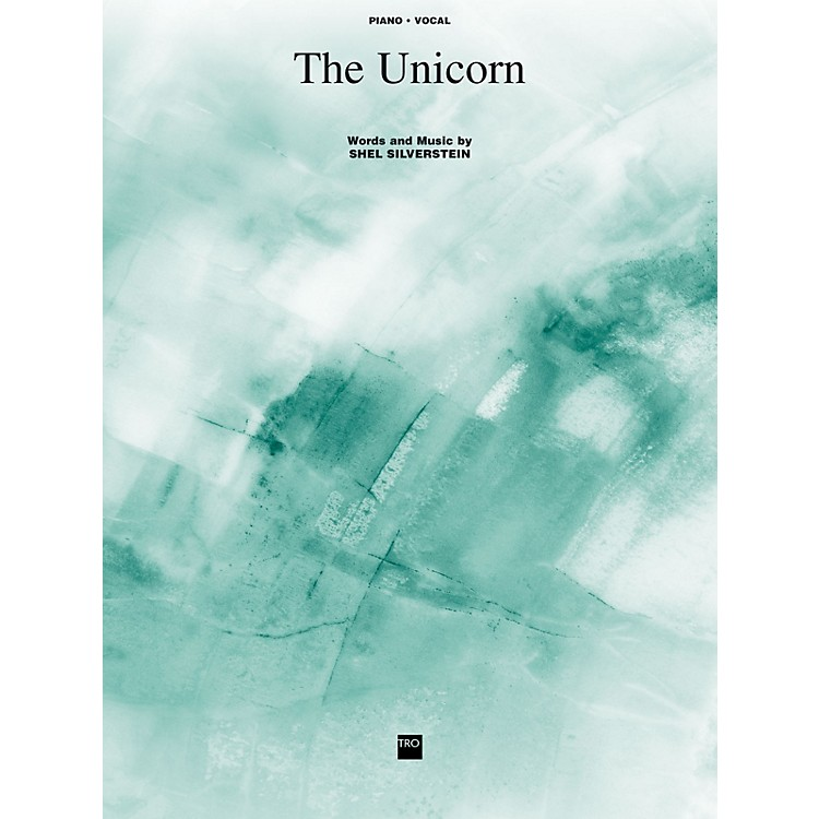 TRO ESSEX Music Group The Unicorn Richmond Music ¯ Sheet Music Series
