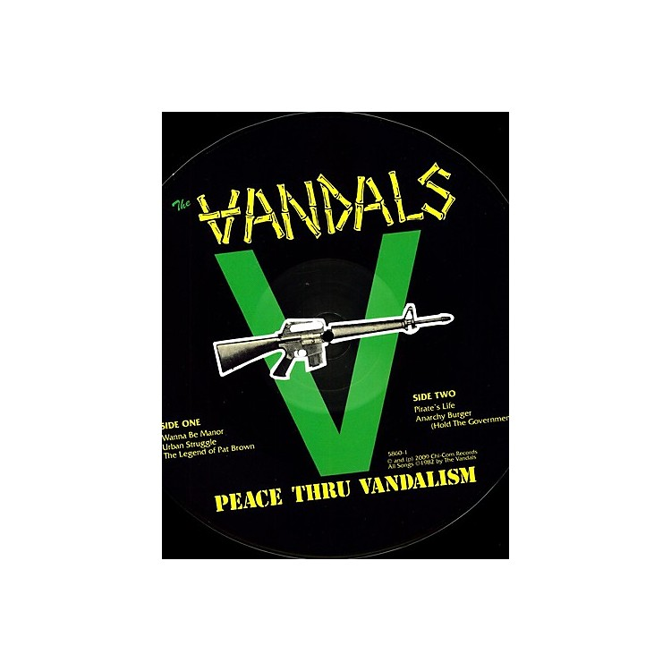 Alliance The Vandals - Peace Thru Vandalism