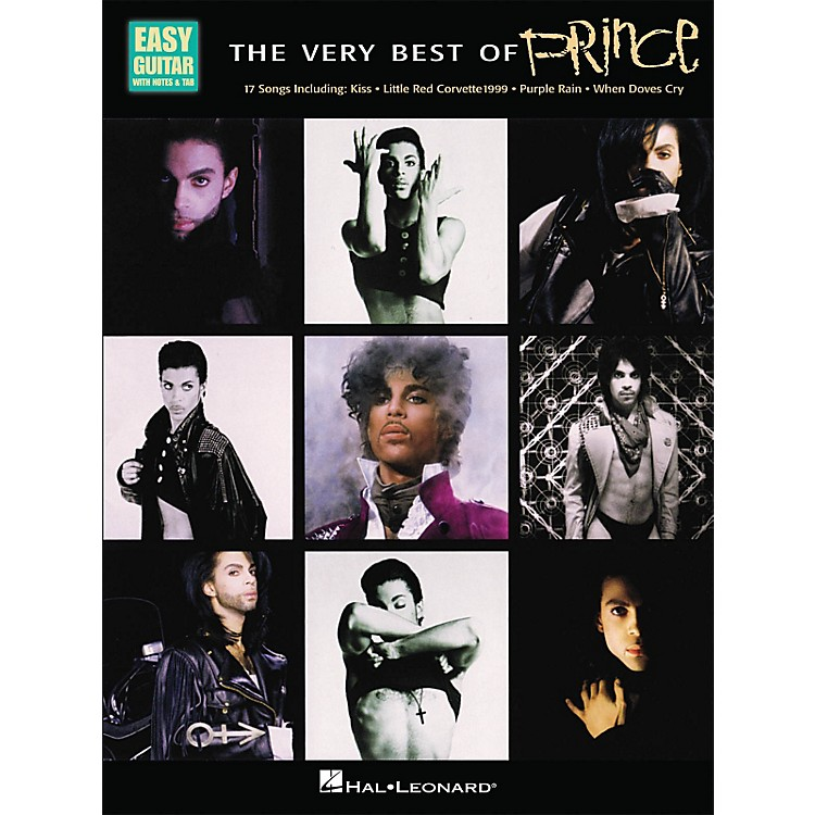 Hal LeonardThe Very Best Of Prince - Easy Guitar with Tab