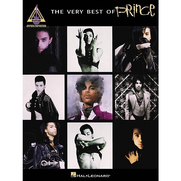 Hal LeonardThe Very Best Of Prince Guitar Recorded Version Songbook