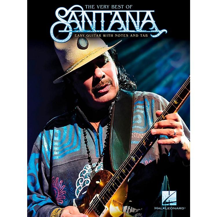 Hal LeonardThe Very Best Of Santana - Easy Guitar with Tab