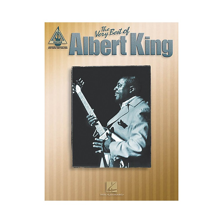 Hal Leonard The Very Best of Albert King Guitar Tab Songbook