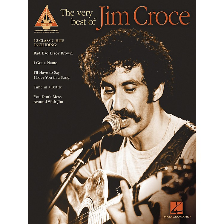 Hal Leonard The Very Best of Jim Croce