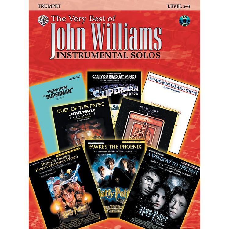 AlfredThe Very Best of John Williams trumpet Book & CD