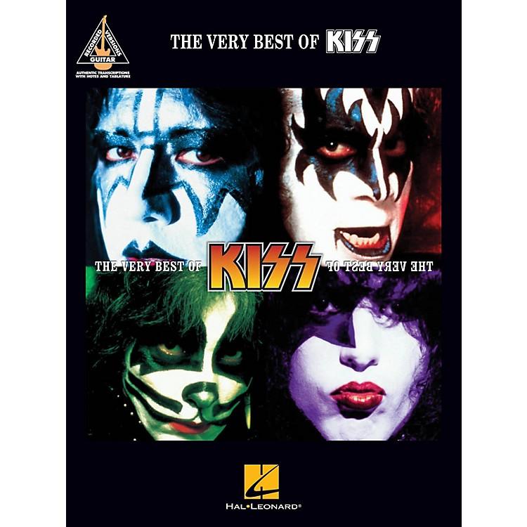 Hal LeonardThe Very Best of KISS Guitar Tab Songbook