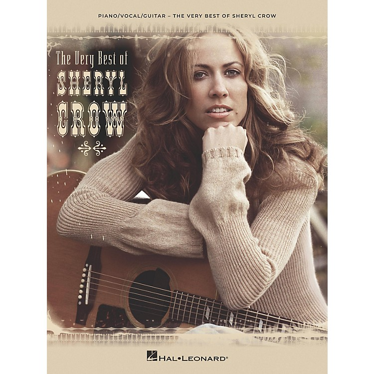 Hal LeonardThe Very Best of Sheryl Crow Piano/Vocal/Guitar Songbook