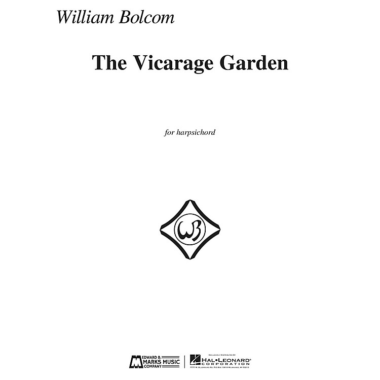 Edward B. Marks Music CompanyThe Vicarage Garden (for Harpsichord) E.B. Marks Series Softcover