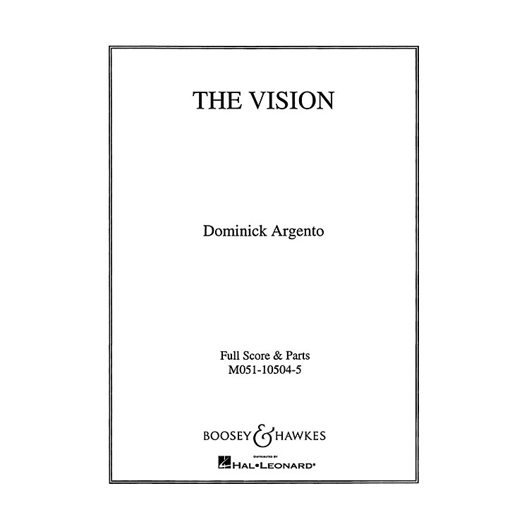 Boosey and HawkesThe Vision (Set of Parts) String Parts composed by Dominick Argento