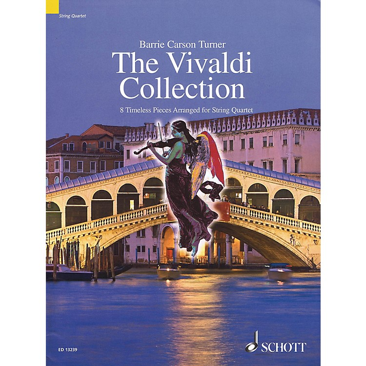Schott The Vivaldi Collection String Series Softcover Composed by Antonio Vivaldi