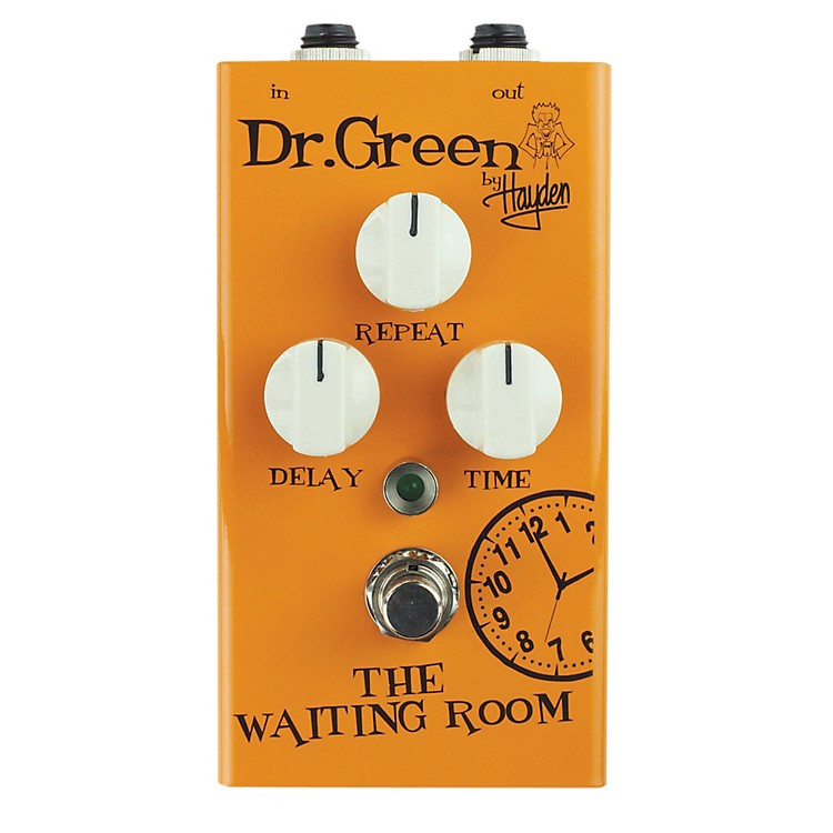 Dr. GreenThe Waiting Room Delay Guitar Effects Pedal