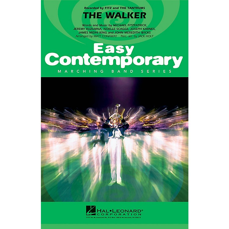 Hal LeonardThe Walker Marching Band Level 2 by Fitz and the Tantrums Arranged by Matt Conaway