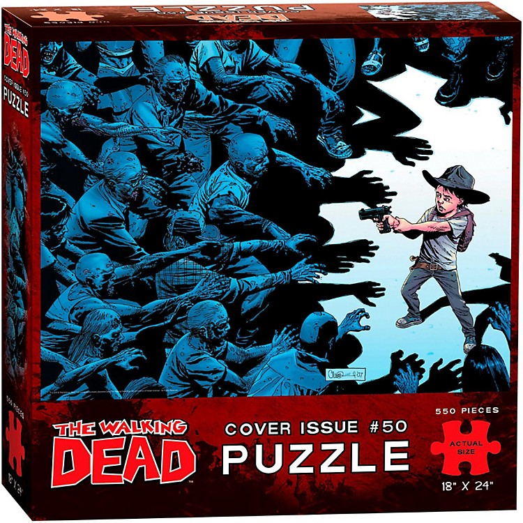 USAOPOLYThe Walking Dead Cover Art Issue 50 Puzzle