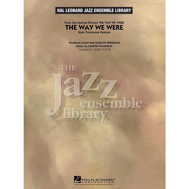 Hal LeonardThe Way We Were (Solo Trombone Feature) Jazz Band Level 4 Arranged by Mark Taylor