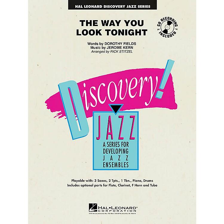 Hal LeonardThe Way You Look Tonight Jazz Band Level 1 Arranged by Rick Stitzel