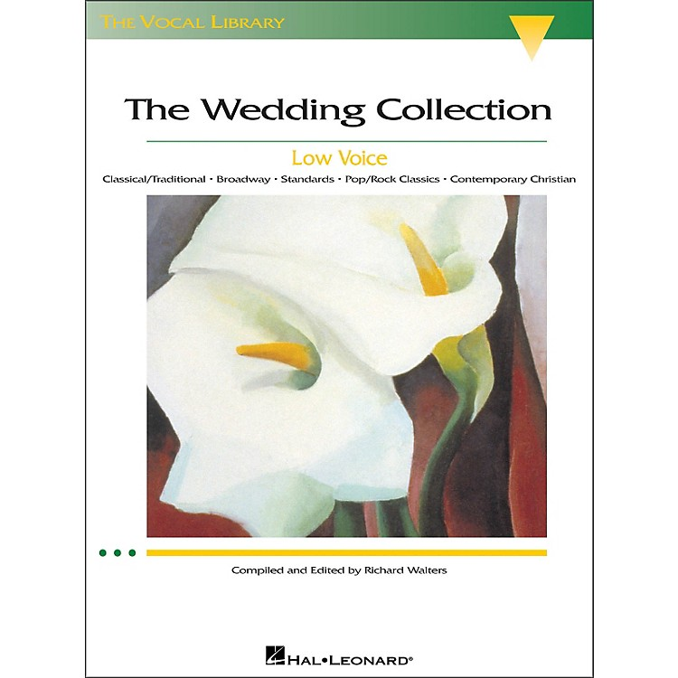 Hal LeonardThe Wedding Collection for Low Voice (The Vocal Library Series)