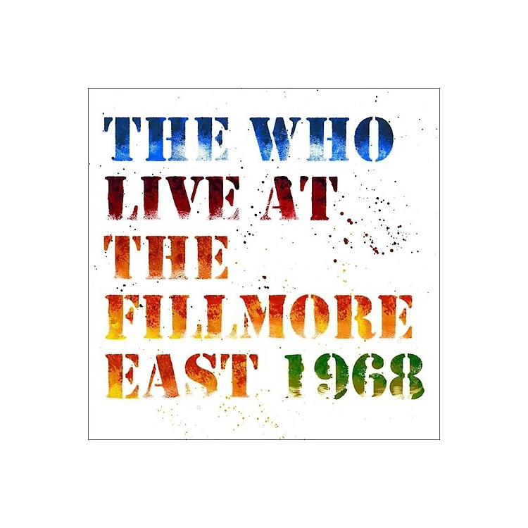 Alliance The Who - Live At The Fillmore East
