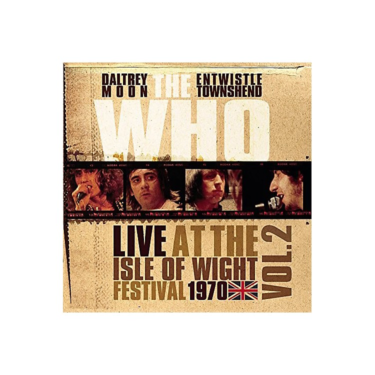Alliance The Who - Live At The Isle Of Wight Vol 2