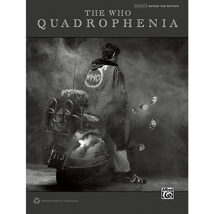 AlfredThe Who: Quadrophenia Guitar TAB Book