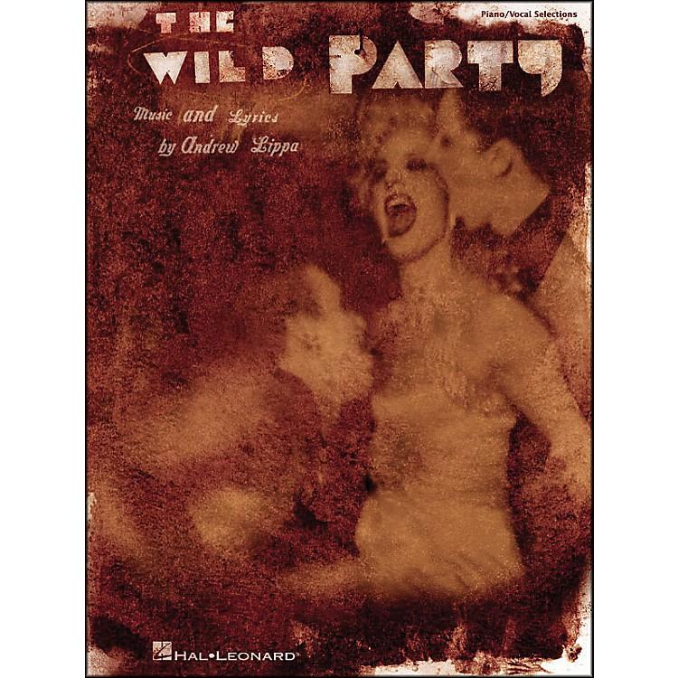 Hal LeonardThe Wild Party arranged for piano, vocal, and guitar (P/V/G)