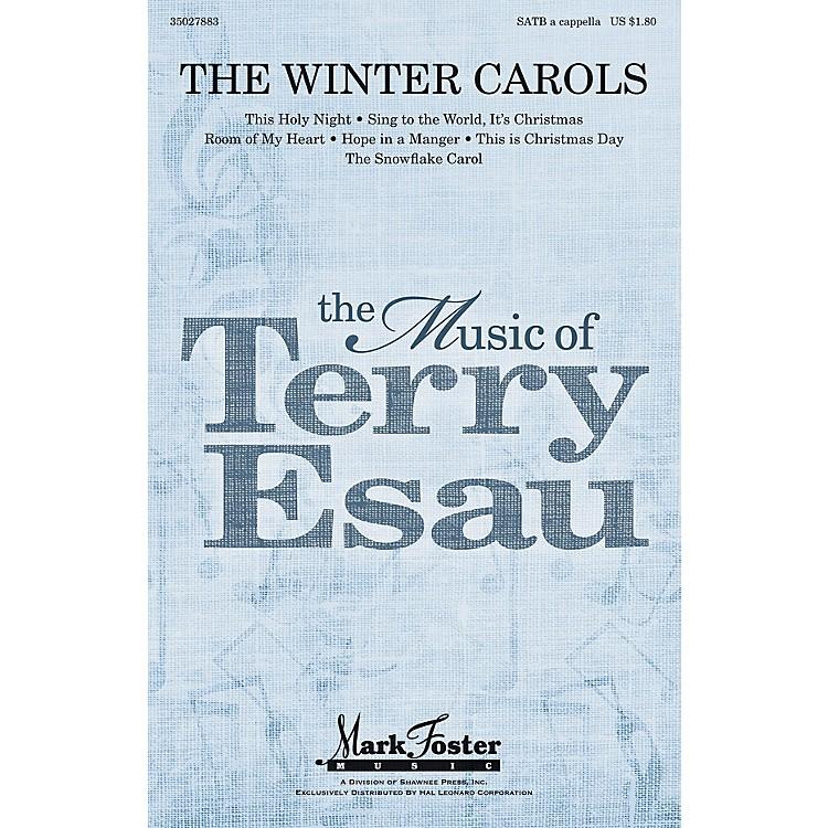 Shawnee PressThe Winter Carols SATB a cappella composed by Terry Esau