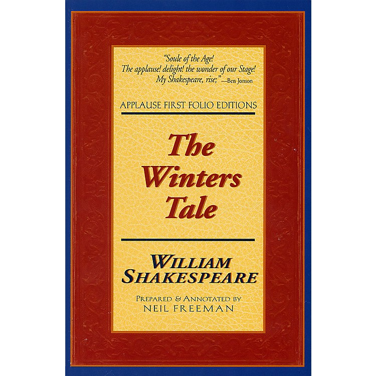 Applause BooksThe Winters Tale (Applause First Folio Editions) Applause Books Series Softcover by William Shakespeare