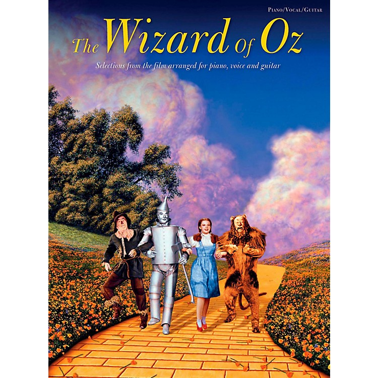 Music SalesThe Wizard Of Oz Piano/Vocal/Guitar