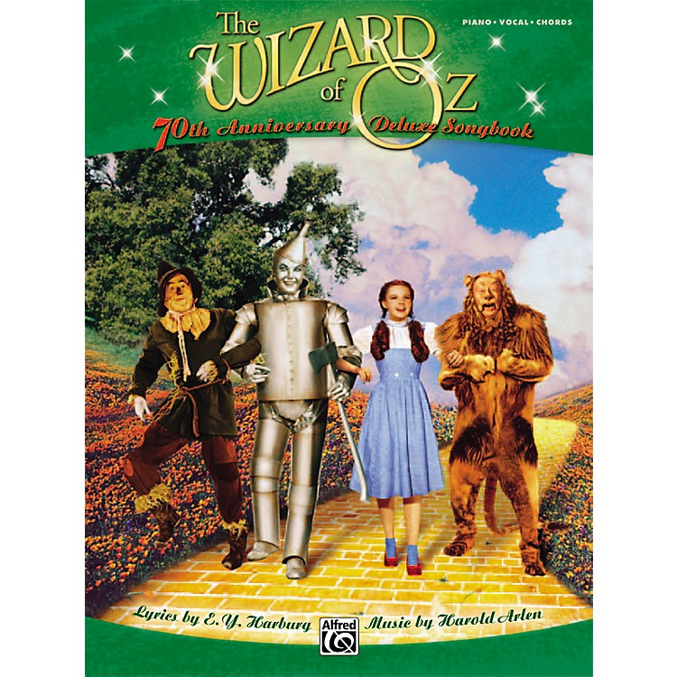 AlfredThe Wizard of Oz 70th Anniversary Deluxe Songbook Piano/Vocal/Chords