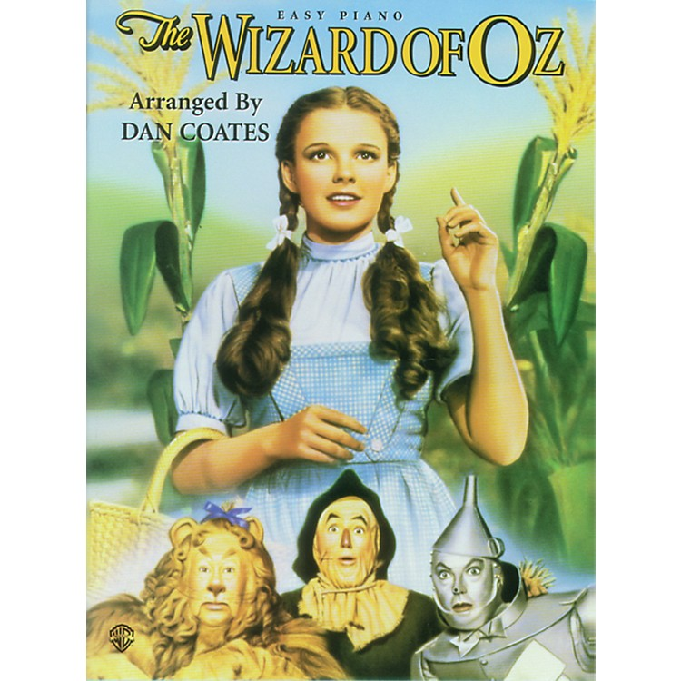 Alfred The Wizard of Oz for Easy Piano Book