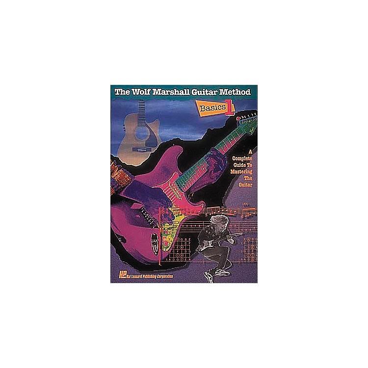 Hal LeonardThe Wolf Marshall Guitar Method - Basic 1 Book