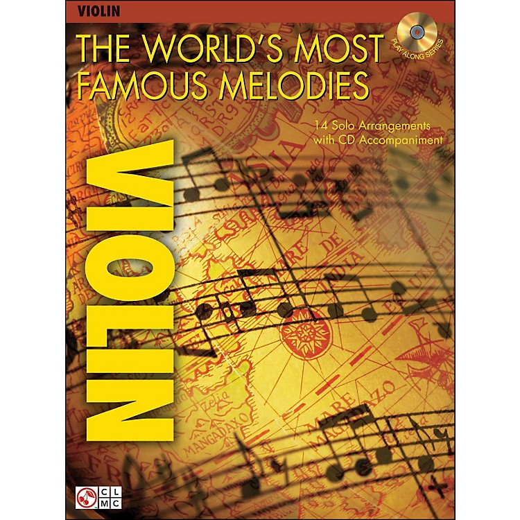 Cherry LaneThe World's Most Famous Melodies for Violin Book/CD