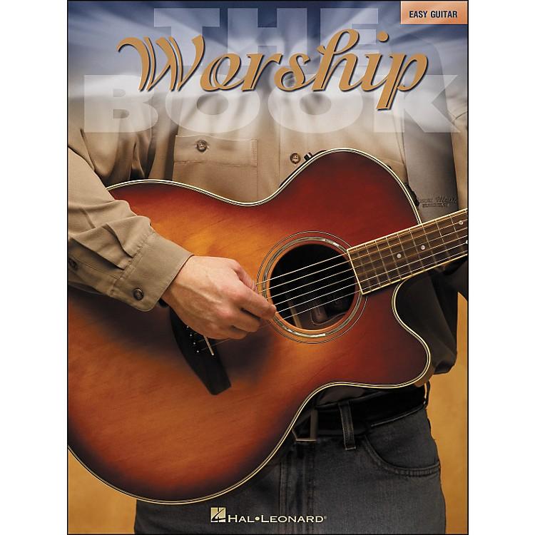 Hal LeonardThe Worship Book - Easy Guitar (No Tab)