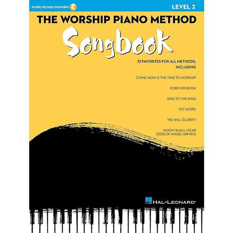 Hal Leonard The Worship Piano Method Songbook - Level 2 Book w/ Audio Online