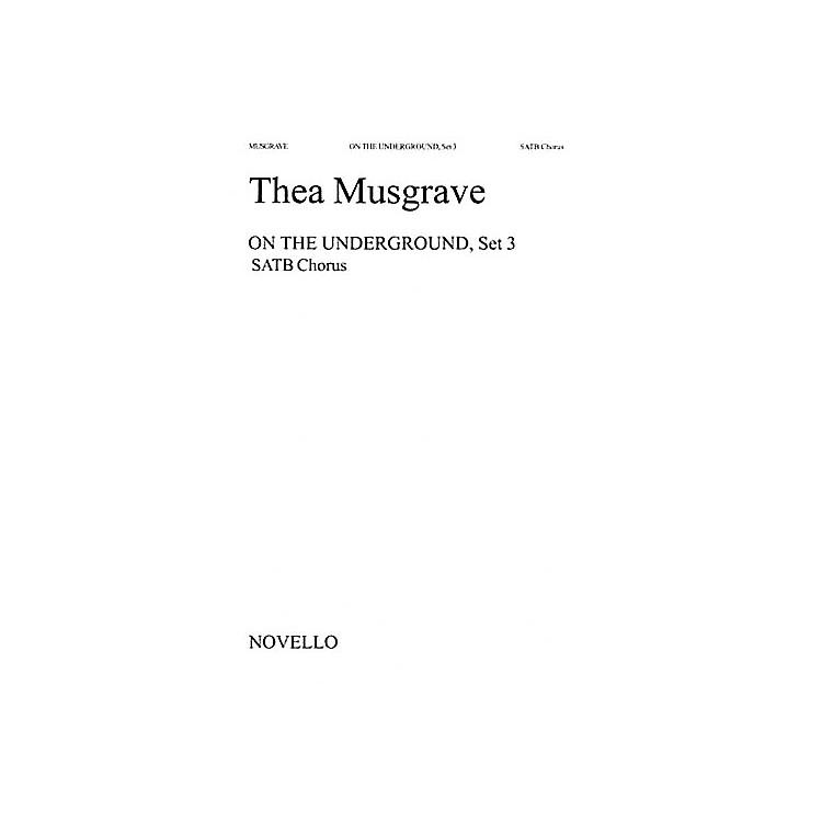 Music SalesThea Musgrave: On The Underground, Set 3 Music Sales America Series