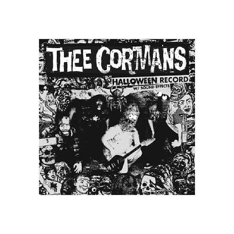 Alliance Thee Cormans - Halloween Record with Sound Effects