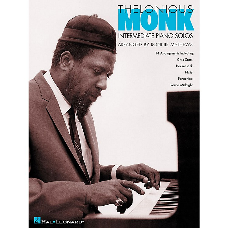 Hal LeonardThelonious Monk - Intermediate Piano Solos Artist Transcriptions (Intermediate)