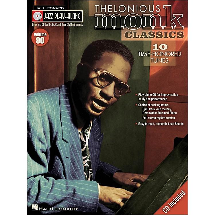 Hal LeonardThelonious Monk Classics - Jazz Play-Along Volume 90 (CD/Pkg)