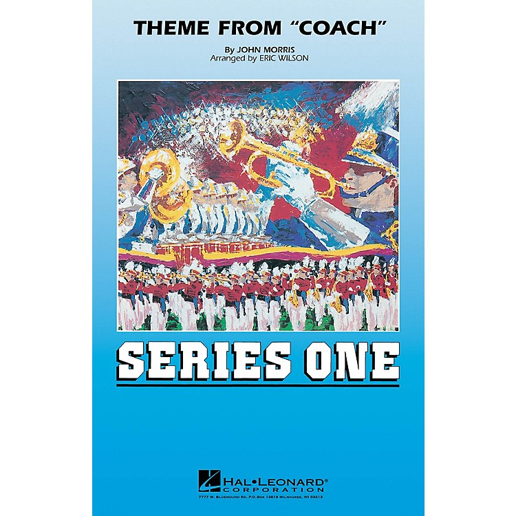 MCATheme from Coach Marching Band Level 2 Arranged by Eric Wilson
