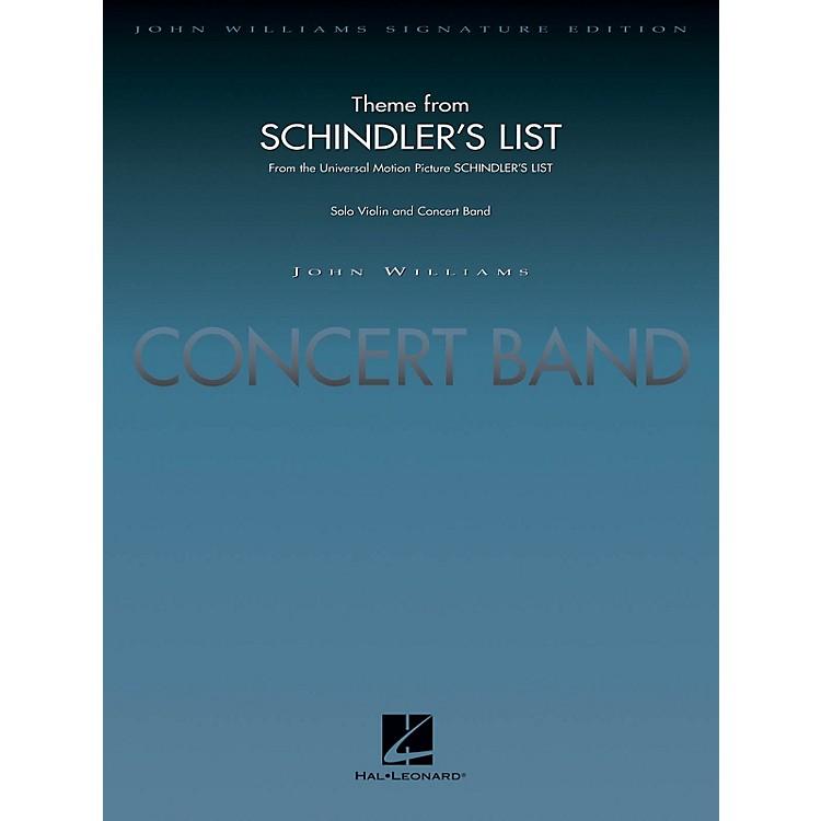 Hal LeonardTheme from Schindler's List (Deluxe Score) Concert Band Level 5 Arranged by John Moss