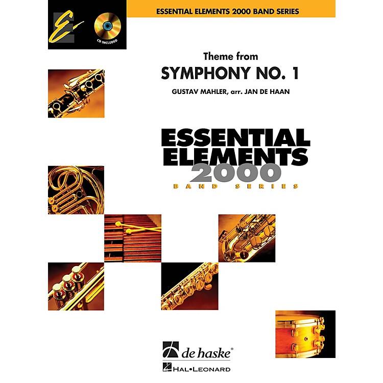De Haske MusicTheme from Symphony No. 1 Concert Band Level 1.5 Arranged by Jan de Haan