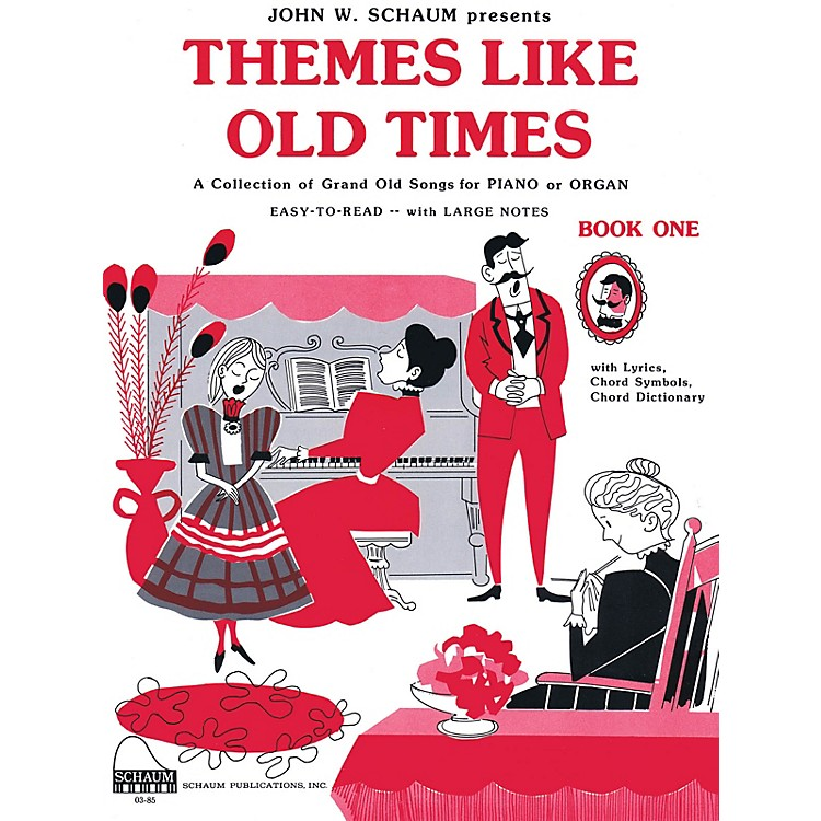 SCHAUMThemes Like Old Times, Bk 1 Educational Piano Series Softcover