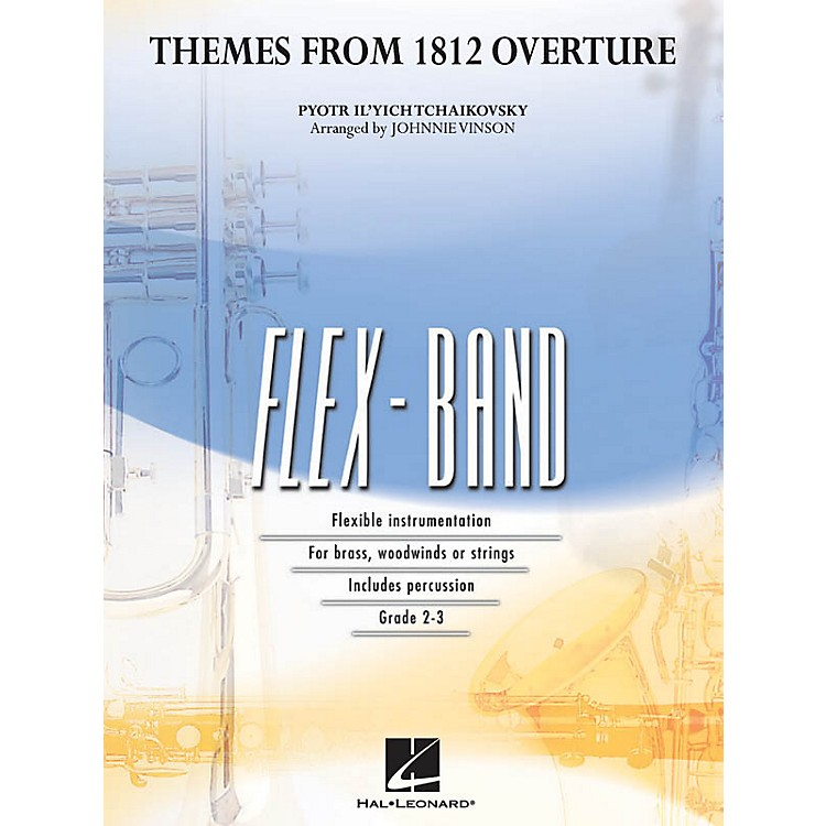 Hal LeonardThemes from 1812 Overture Concert Band Level 2-3 Arranged by Johnnie Vinson
