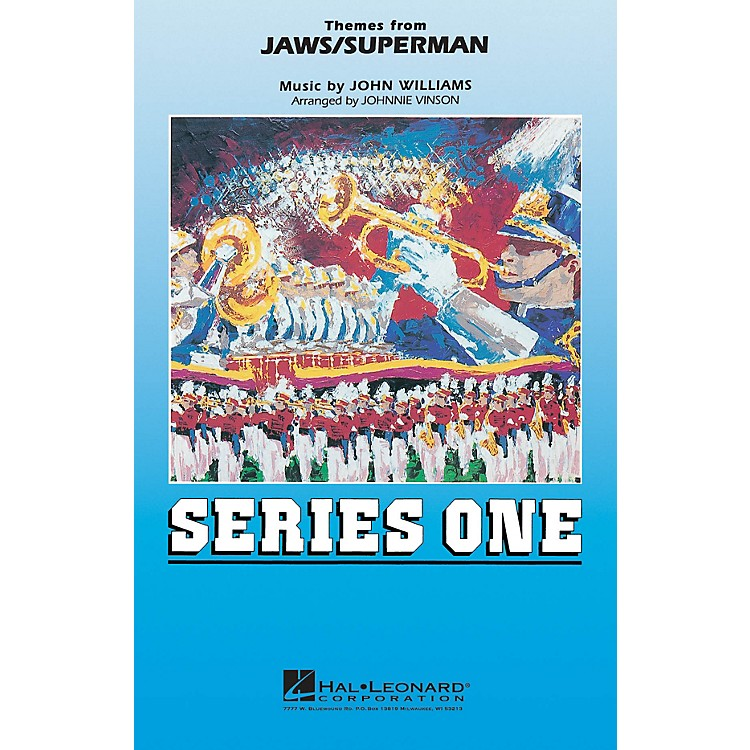 MCAThemes from Jaws/Superman Marching Band Level 2 by John Williams Arranged by Johnnie Vinson