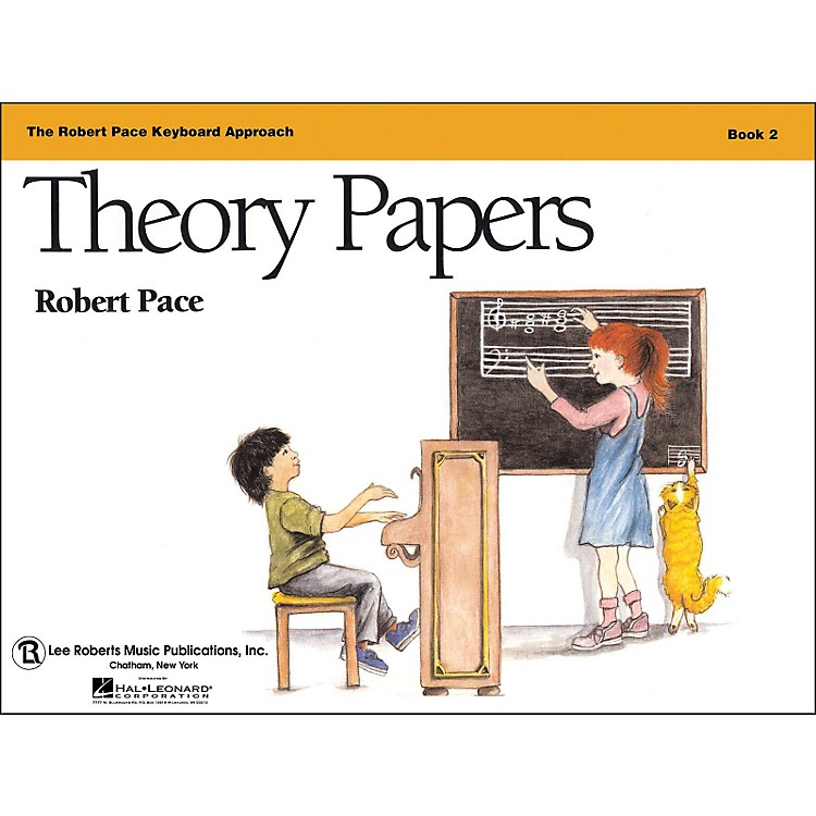 Hal LeonardTheory Papers Book 2, Piano Revised, The Robert Pace Keyboard Approach