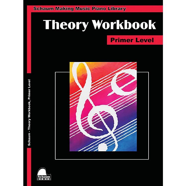 SCHAUMTheory Workbook - Primer Educational Piano Book by Wesley Schaum